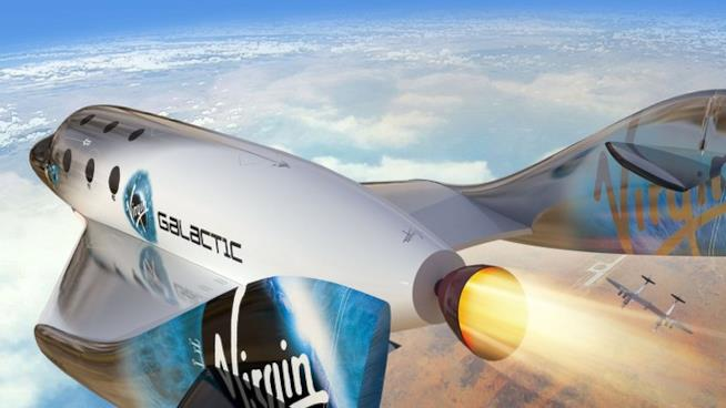 Al primo volo del VSS Unity parteciperà anche Brenson