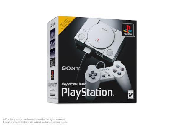 PlayStation Classic uscirà in Italia il 3 dicembre 2018