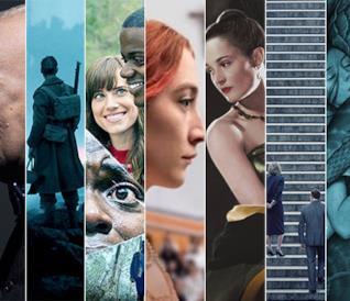 I candidati agli Oscar 2018 nella categoria Miglior film