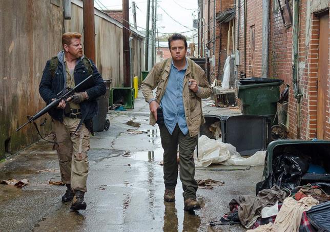 The Walking Dead: Eugene e Abraham