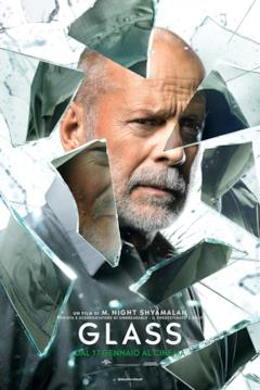 Glass: il character poster con David Dunn (Bruce Willis)