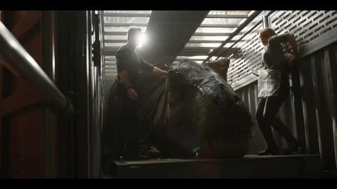 Rexy in alcune scene di Jurassic World 2