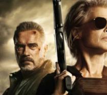 Terminator Destino Oscuro Sarah Connor e Schwarzenegger