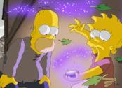Scena tratta dal primo episodio della 29esima stagione dei Simpson