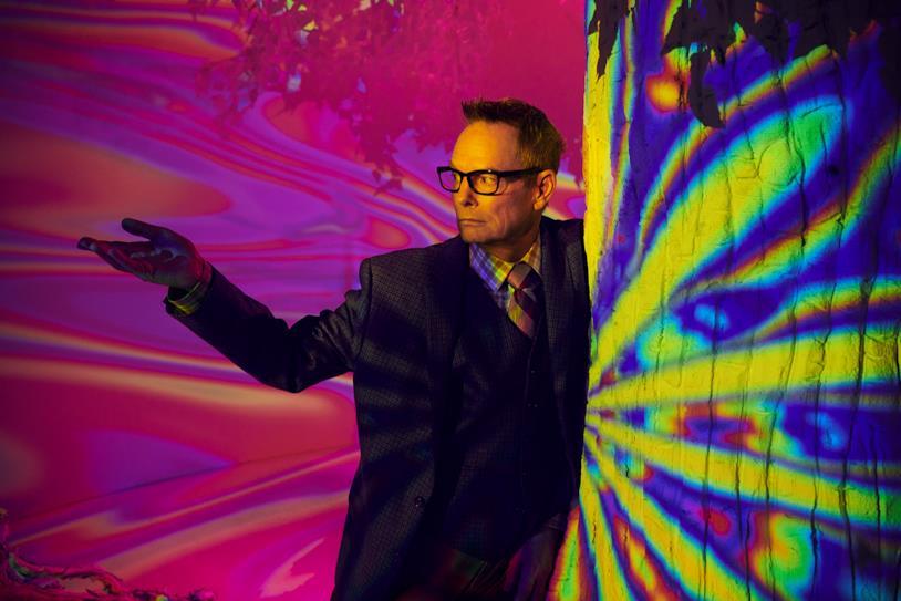 Cary Louder Milk nello psichedelico poster di Legion 3