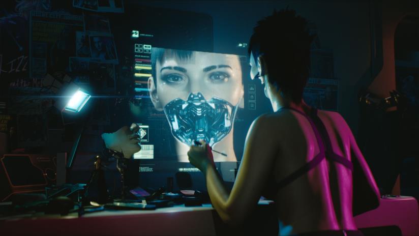 Un androide nel mondo di Cyberpunk 2077