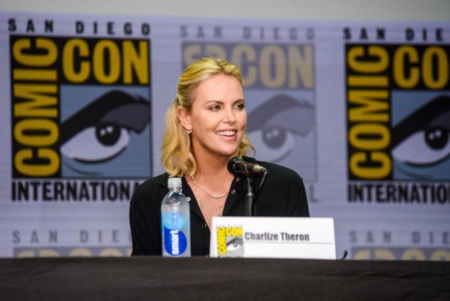 Charlize Theron al Comic-Con