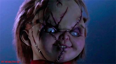 GIF della bambola assassina Chucky