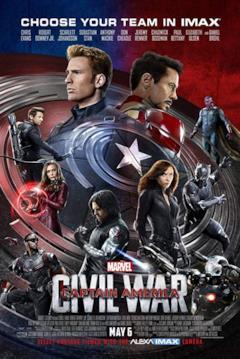 Gli avengers presenti nella pellicola