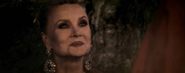 Barbara Bouchet in una scena di Darkside Witches