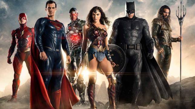 Gli eroi della Justice League