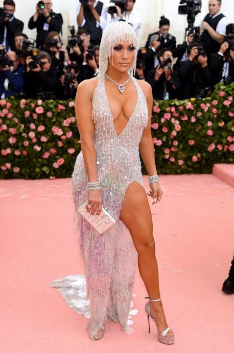 Jennifer Lopez al MET Gala 2019