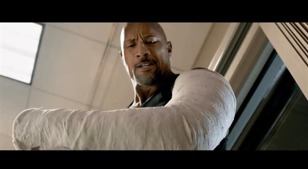 The Rock in Fast & Furious