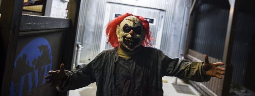 Pennsylvania: uno studente travestito da clown dell'orrore