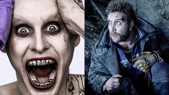 Joker alias Jared Leto e Captain Boomerang alias Jai Courtney