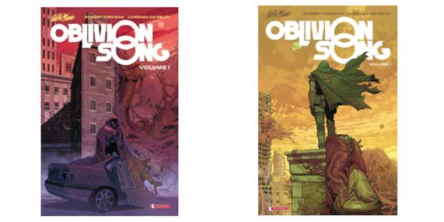 Le edizioni italiane di Oblivion Song - Volume 1