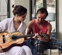 Emma Watson e Tom Felton in uno scatto su Instagram