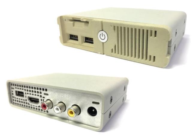 PC Classic visto anteriormente e posteriormente