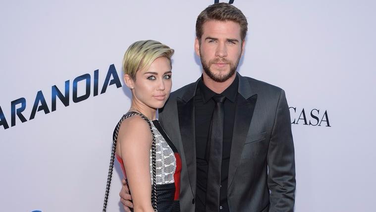 Miley Cyrus e Liam Hemsworth a un evento ufficiale