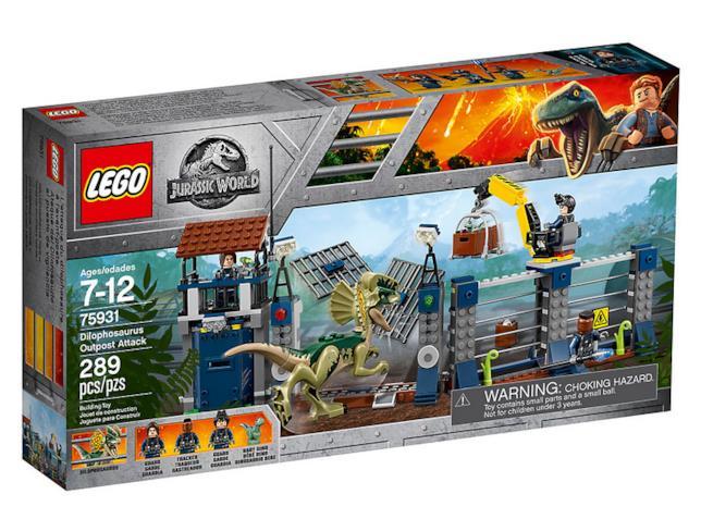 Dettagli del box del set di LEGO