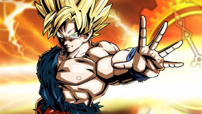 Goku Super Saiyan sulla cover del primo Dragon Ball Xenoverse