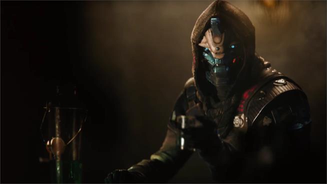 Cayde-6 sorseggia un drink nel primo video di Destiny 2