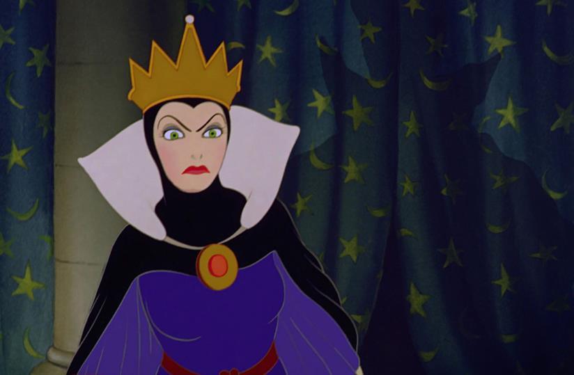 La regina Grimilde è uno dei più famosi villain Disney