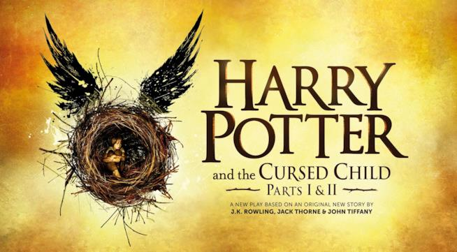La locandina di Harry Potter and the Cursed Child