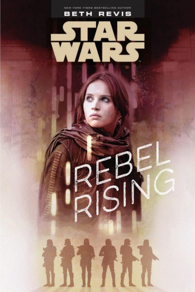 Copertina del libro Rebel Rising