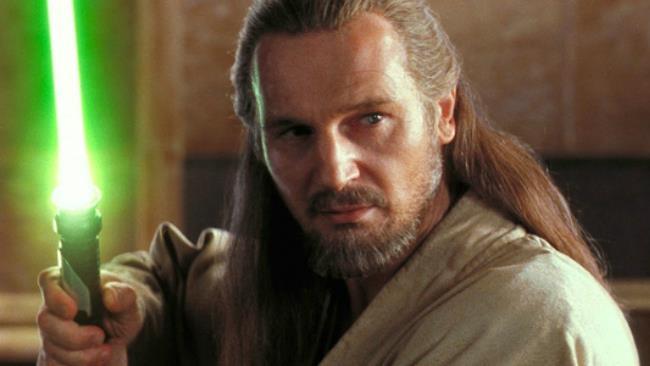 Liam Neeson è Qui-Gon Jinn