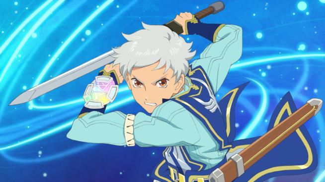 Il protagonista di Tales of the Rays sguaina la sua spada