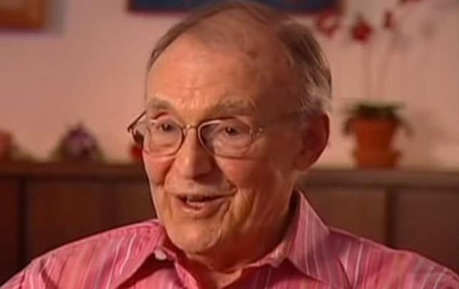 Richard Bull poco prima di morire nel 2014
