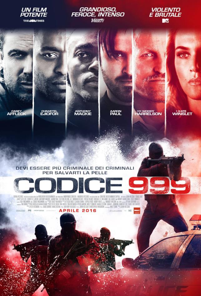 Poster del film Codice 999