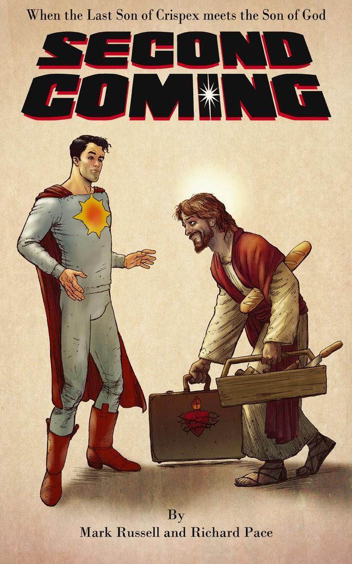L'immagine del fumetto di Mark Russell e Richard Pace