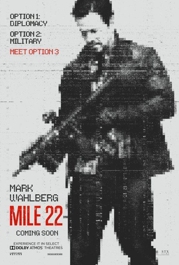 Mark Wahlberg nel poster ufficiale di Mile 22
