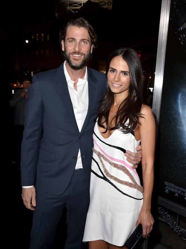 Jordana Brewster e il marito, Andrew Form