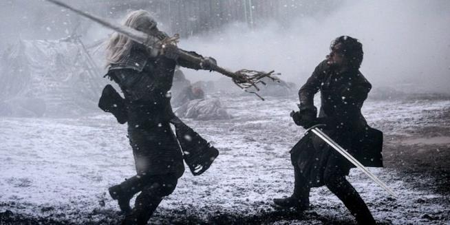 Una sequenza di Game of Thrones