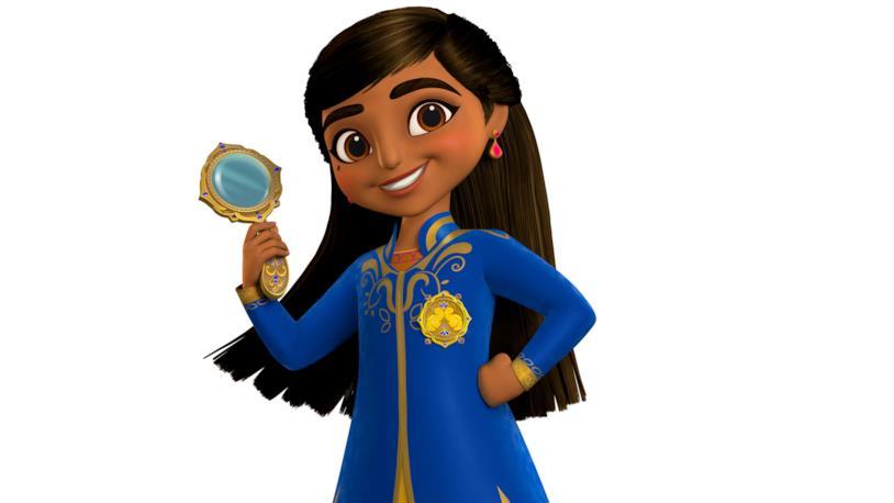 Un'immagine della nuova serie animata Mira, Royal Detective