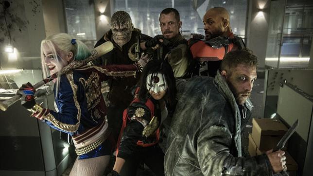 Scena del film Suicide Squad