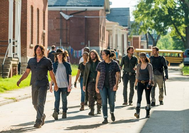 Il cast di The Walking Dead