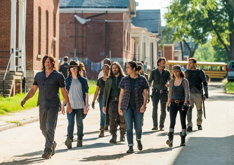 Il cast di The Walking Dead