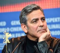 L'attore George Clooney a Berlino