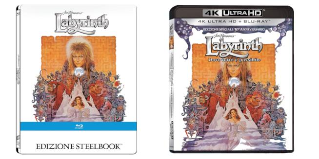 Labyrinth: Dove Tutto È Possibile (30° Anniversario), Steelbook e 4K UHD