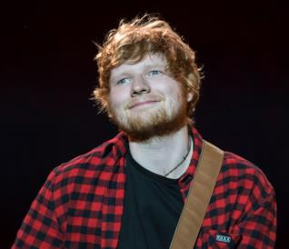 Ed Sheeran sul palco