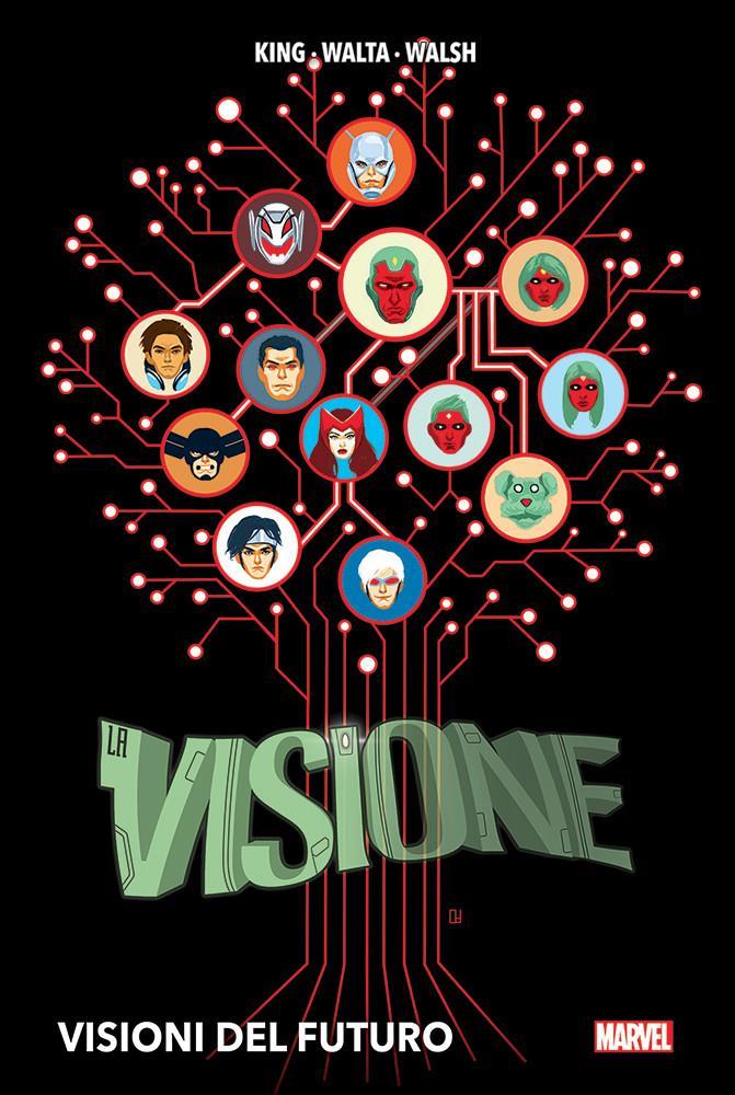 La copertina di Visione - Visioni del futuro