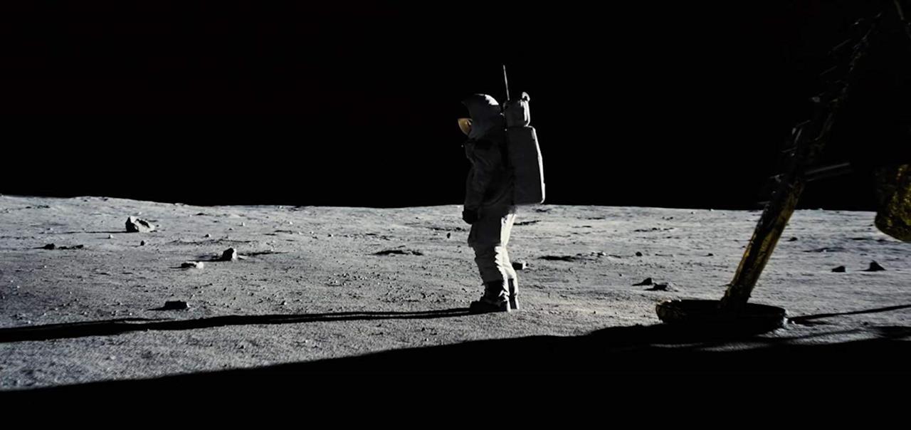Il primo uomo è appena sbarcato sulla Luna
