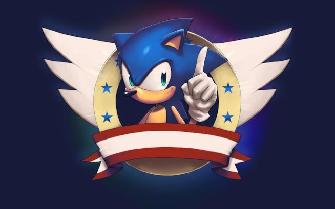 In foto Sonic