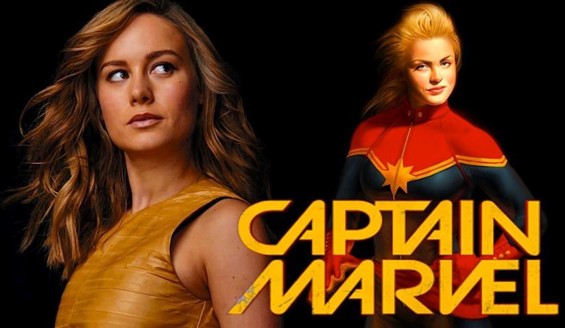 Brie Larson è ufficialmente Captain Marvel!