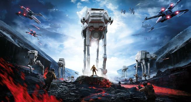 La prima trilogia diventa un videogioco con Star Wars Battlefront