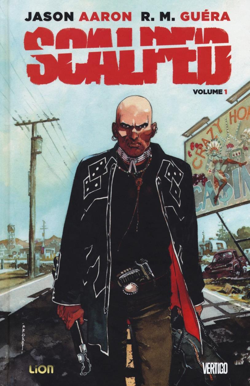 Scalped, la copertina del primo volume dell'edizione deluxe